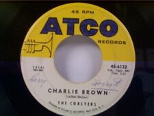 "COASTERS ""CHARLIE BROWN / THREE COOL CATS"" 45"