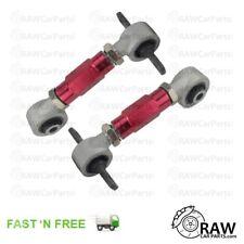 RED Rear Adjustable Camber Kit for Honda CRX Civic Integra EG EJ EK DC2 88-00