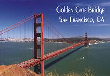 Golden Gate Bridge, CA, California 2 x 3 Souvenir Fridge Locker Magnet CA031