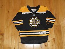 Reebok MILAN LUCIC BOSTON BRUINS #17 Toddler NHL Team Replica Hockey JERSEY 2-4T