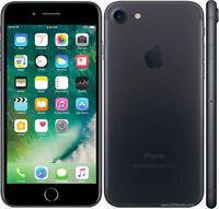 "Apple iPhone 7 32GB 4.7"" Display 4G GSM MATTE BLACK UNLOCKED Smartphone SRF"