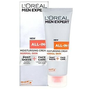 L'Oreal Men Expert All in 1 Moisturizing Cream, Post Shave + Face Care 2.5 oz