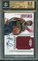 2012-13 panini contenders substantial signatures mater #30 KYRIE IRVING BGS 9.5