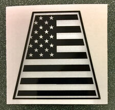Tactical American Flag Tetrahedron Reflective Decal   #TE20