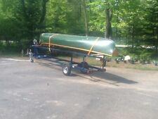 1937 18' Chestnut Prospector Vee-Stern Antique Canoe