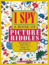 I SPY A BOOK OF PICTURE RIDDLES 10TH ANNIVERSARY EDITION 10 NEW CHALLENGES