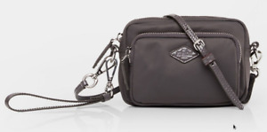 MZ WALLACE Mini Gramercy Crossbody Nylon Pouch Wristlet Wallet ~NWT~ Magnet