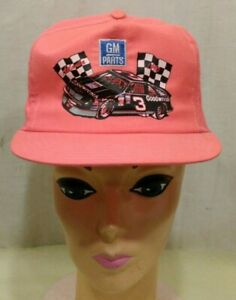 Vintage GM Parts Dale Earnhardt #3 1990 Atlanta Hat