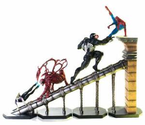 Iron Studios Spiderman Venom Carnage Spider-Gwen Diorama 1/10 Rafael Albuquerque