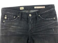 Adriano Goldshmied AG Womens Jeans 27 Premiere Grey Skinny Distresed