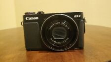 Canon PowerShot G9 X 20.2 MP Fully Working - Black