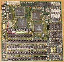 AMD n80l286-16/s 16 MHz 1mb isa 4x 16bit 2x 8b at placa madre Octek fox 286 900101