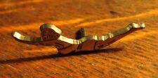Swimming Letterman Jacket Lapel Pin - Vintage Women's Girls Athlete Team Badge