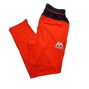 Majestic KFC BBL Track Pants Mens Orange Fluoro Size L
