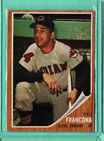 1962 Topps #97 Tito Francona VgEx - VG
