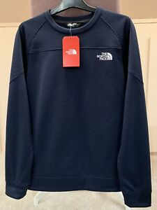 The North Face Men's Mittelegi Crew Neck Sweatshirt - Navy - Size: Medium - BNWT