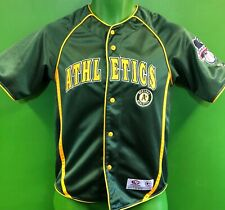 J870/300 MLB Oakland Athletics A's Stitched Baseball Jersey Youth Medium 8-10