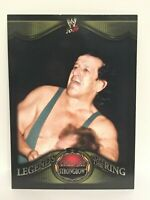2009 Topps Jay Strongbow Legends of the Ring wwe wrestling card wwf chief nwa