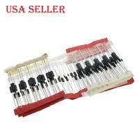 100pcs/lot Fast Switching Schottky Diode Rectifier Diode Kit Set 8 Type Pack