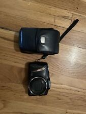 Canon PowerShot SX130 IS 12.1MP Digital Camera - Black With Leather Case!!