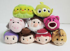 "Authentic USA Disney Store Tsum Tsum Mini 3.5"" TOY STORY Complete Set of 9 - NWT"