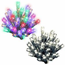 240 Bright LED String Christmas Light Static Xmas Tree Window Decoration Festive