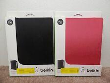BELKIN BI-FOLD FOLIO FOR IPAD 2ND,3RD,4TH GEN. PINK OR BLACK CHOICE