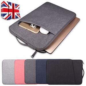 14 15 15.6 inch Laptop Bag Handbag Sleeve Case Cover For MacBook HP Dell Lenovo