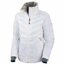 Columbia Women's Kaleidaslope II Jacket, White. Medium