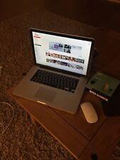 macbook pro 15 Mid 2009 Broken Hinge , Cracked Screen Working Ok