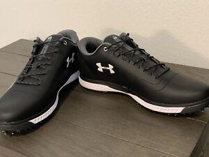 Under Armoire Fade RST 3 Golf Shoes Black Size 10 Men's 3023330-001