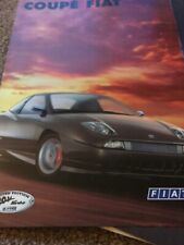 Fiat Coupe 20v Turbo Limited Edition 1998 European Market Sales Brochure