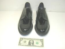 Bates Uniform Footwear Mens Black Patent Shoes MC9-90 Size 11
