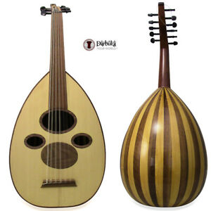 "Professional Syrian Arabic Oud "" Damascus Sky""  with Soft carry case"