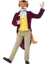 Roald Dahl Fantastic Mr Fox Costume,Large Age 10-12,Licensed Fancy Dress