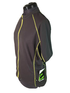 New Cannondale Cycling Jersey Bike Jersey Short Sleeve Bicycle Large Gray