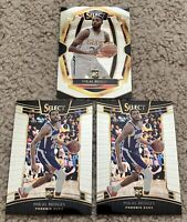 2018-19 Mikal Bridges Select Rookie Cards Concourse and Premier