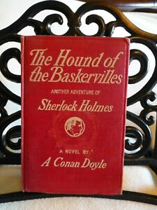 Arthur Conan Doyle / THE HOUND OF THE BASKERVILLES First Ed. 1902 Fourth Imp