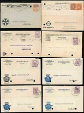 FINLAND EFTP 1920-40 ECONOMICAL FOLDED TYPEWRITER POSTCARDS COMMERCIAL CAMEOS
