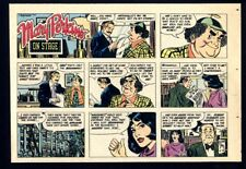 MARY PERKINS ON STAGE (1975) 24 Sunday Comics by LEONARD STARR +22 FAMILY CIRCUS
