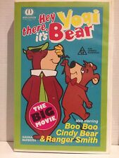 HEY THERE, IT'S YOGI BEAR ~ THE BIG MOVIE ~ HANNA BARBERA ~ VHS VIDEO ~ 89 MINS