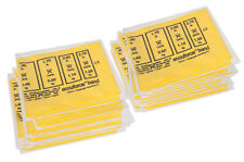 CanDo AccuForce Exercise Band-box of 40, 4ft lengths-Yellow-x-light-1476220 NEW