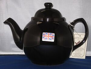 GENUINE BROWN BETTY, Red Clay, Rockingham Glaze,  6 Cup Tea Pot, MADE IN ENGLAND
