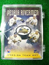 '05-06 AHL Peoria Rivermen Team Hockey Card Set St Louis Blues ECHL Alaska Aces