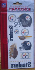 Pittsburgh Steelers Temporary Tattoos - Pkg of 10 NFL