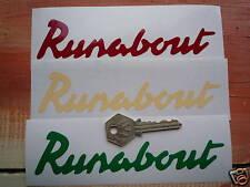 "Raleigh Runabout corte de vinilo estilo de texto Bicimoto pegatinas 6 ""Par Bicicletas Bike"