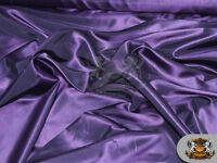"Taffeta Solid Fabric PURPLE / 58"" Wide / Sold by the yard"