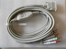 ECG Cable ECG Lead for Contec ECG Machine ECG/EKG Electrocardiograph