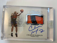 Charles Barkley 2018-19 PANINI FLAWLESS GAME USED PATCH AUTO SP #10/25 🔥🔥 SUNS