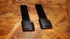 2 - 10rd Extended Magazines Mags Clips for Smith & Wesson M&P Shield 9mm  (S345)